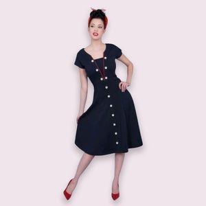 Tatyana Loose Cannon Swing 50s Styled Dress